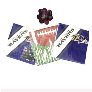 NFL Baltimore Ravens Dinners Napkins Partyware